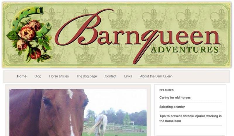 Barnqueen-horse-site