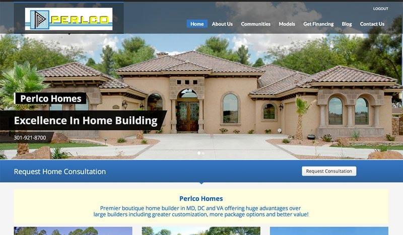 perlco-homes-web-design