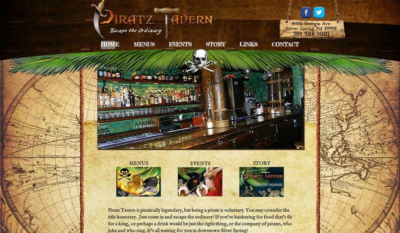 piratz-tavern-web-design