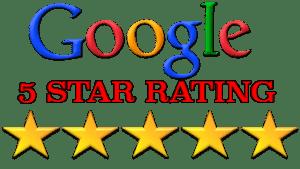 google-5-stars rating | Mark Lovett Web Design