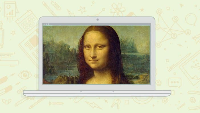 Mark Lovett Web Design mona-lisa meets digital marketing pic