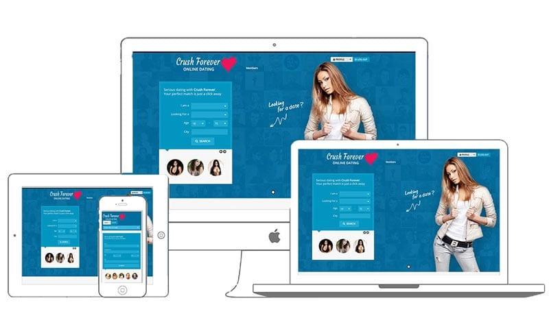 Dating Site by Mark Lovett Web Design