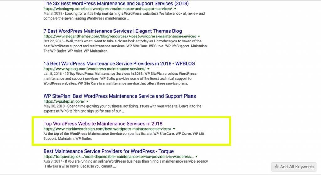 Maryland SEO Company | wordpress-maintenance-services
