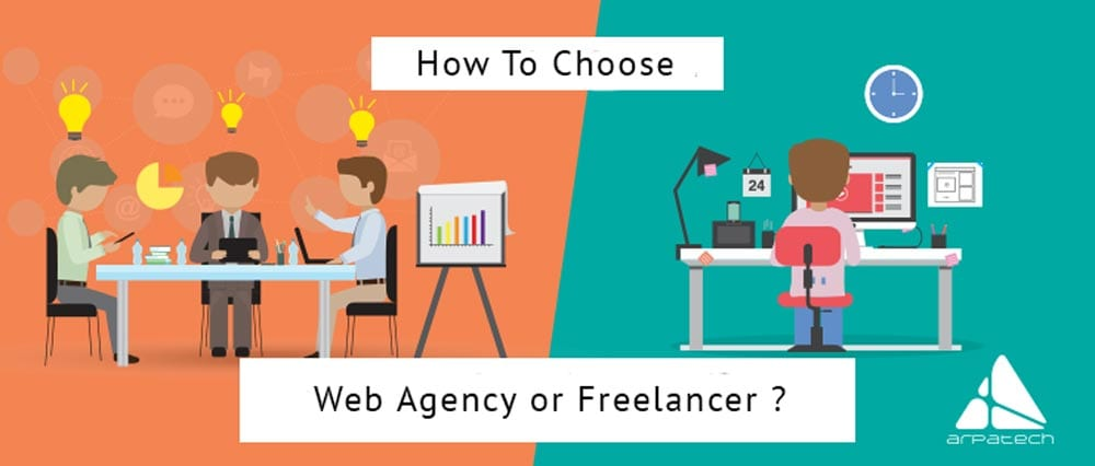 How to Choose web Agency or Freelancer